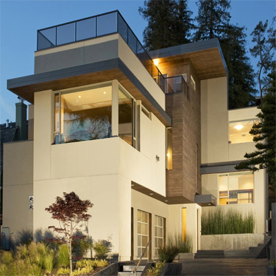 Stucco siding colorado colorado siding for Modern stucco house