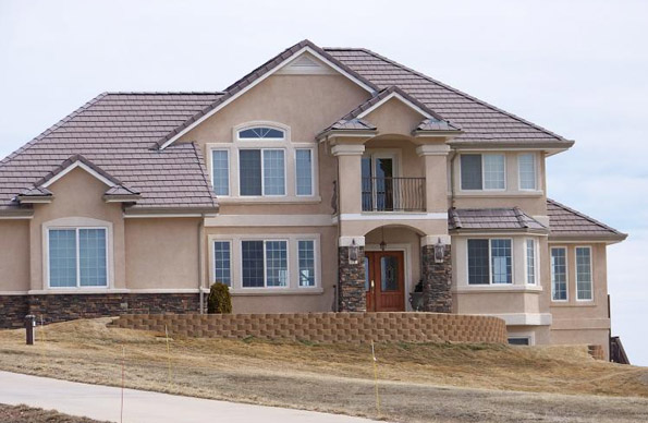 Security colorado siding scottish home improvements for Stucco or siding