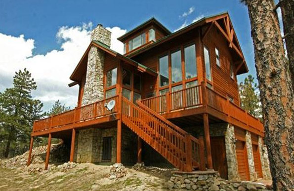 Beautiful fire resistant siding for your colorado mountain for Fire resistant house siding material hardboard