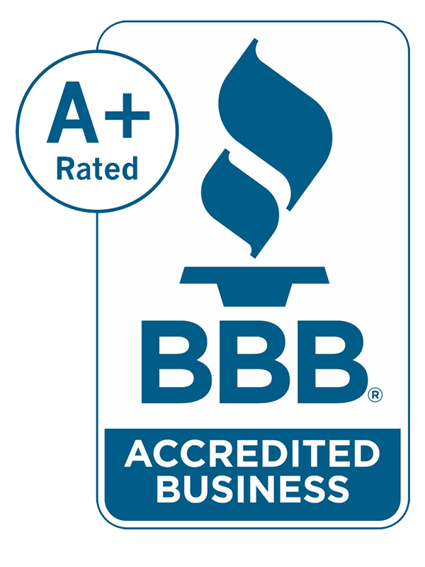 A+ BBB Better Business Bureau Accredited Business