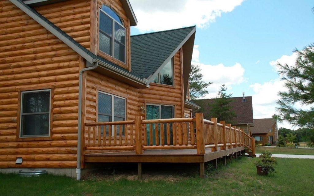 wood siding breckenridge