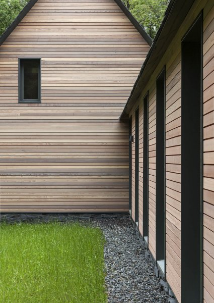 wood siding fraser