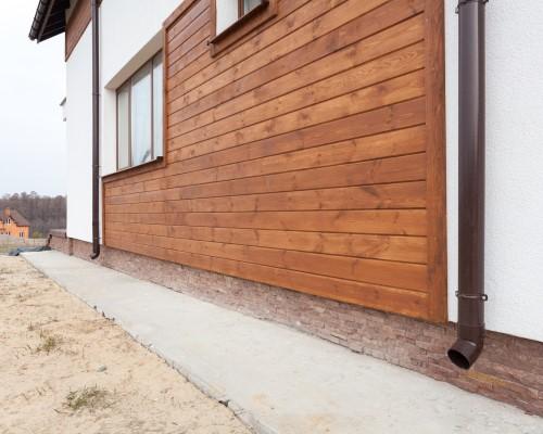 wood siding parker