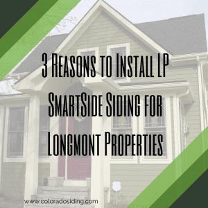 lp smartside siding longmont